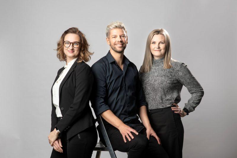 Johanna Säynäjäkangas, Sofia Forsberg & Mikko Koivisto